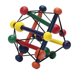 Manhattan Toy Skwish Classic Rattle and Teether Grasping Act