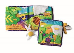 Manhattan Toy Soft Activity Book with Tethered Toy, Sunny Da