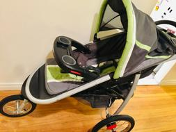 Graco FastAction Fold Jogger Click Connect Stroller - Blac