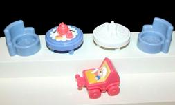 Fisher Price Little People Lot Tea Tables, Chairs, Baby in S