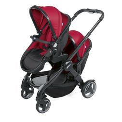 Chicco Fully Twin Stroller Twin Reversible Pram for Cufflink