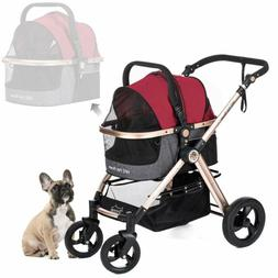 HPZ Pet Rover Prime 3-in-1 Luxury Dog Cat Pet Stroller Trave