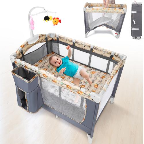 Baby Stroller Safety Child Trolley Carriage Folding