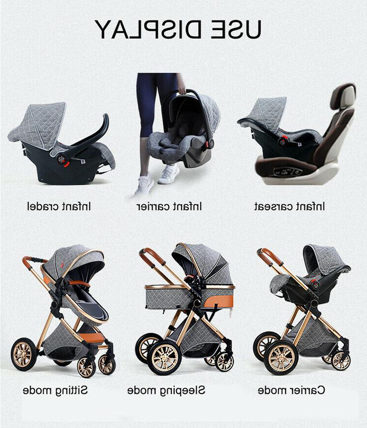 Baby 1 Foldable Infant Travel System Car Seat