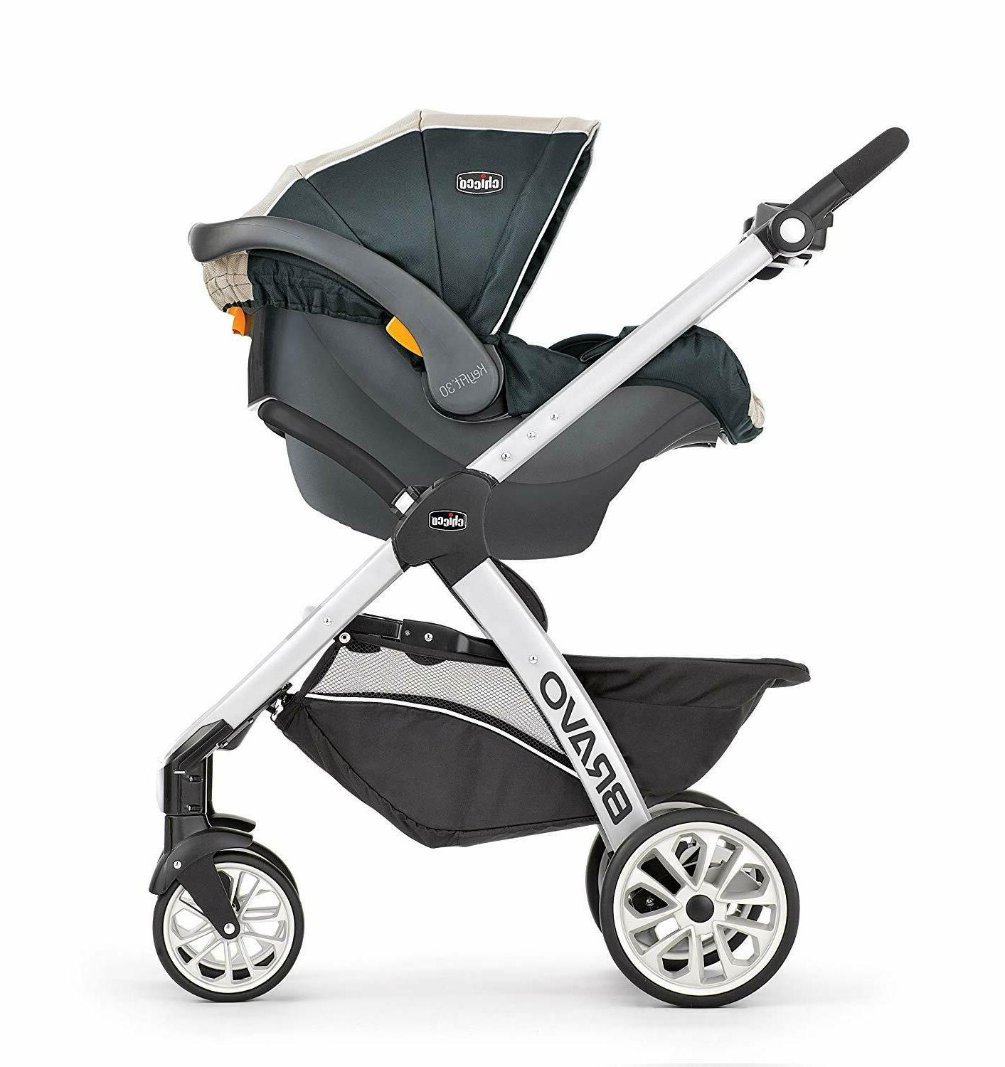 Chicco Bravo Trio 3-in-1 Travel System, Orion NEW w/ Creased