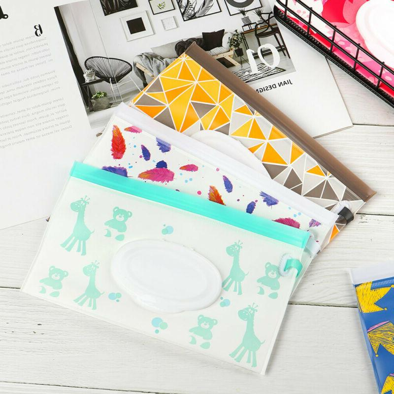 Cover Baby Product Cosmetic Wipes Bag Tissue