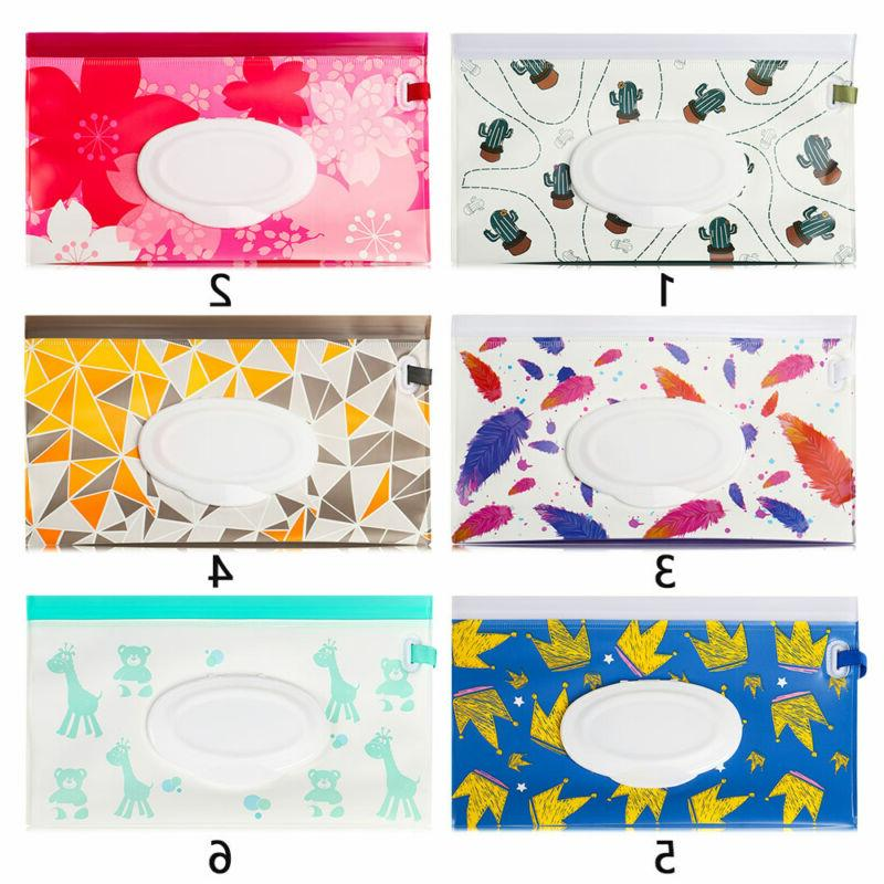 Cover Pouch Stroller Wipes Bag Box