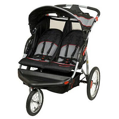 expedition swivel double jogger baby jogging stroller