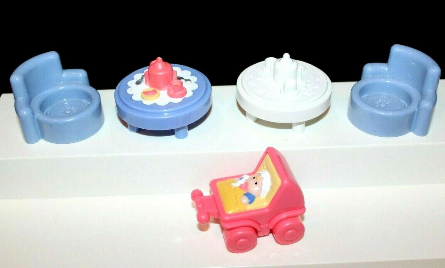 fisher price little people lot tea tables