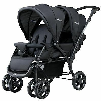 foldable twin baby double stroller lightweight travel