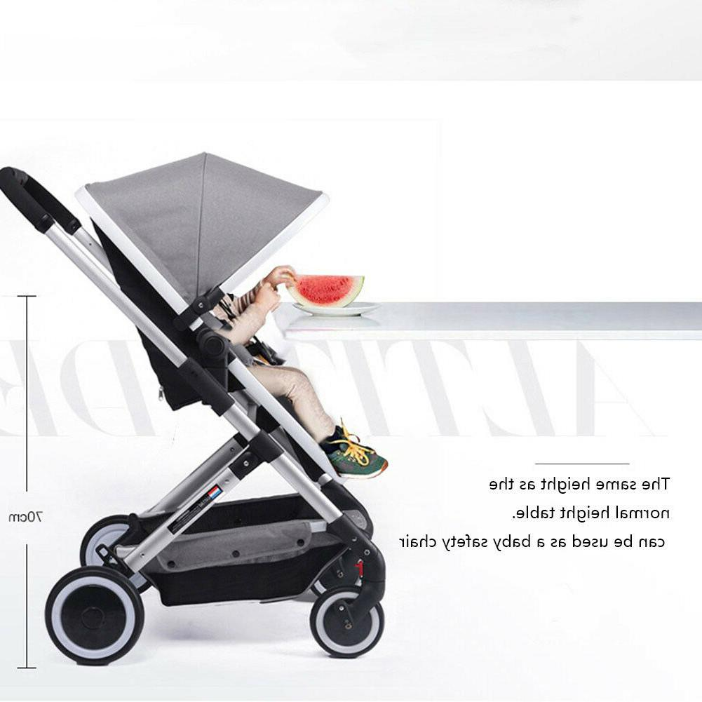 Lightwight Travel Stroller Buggy Pushchair