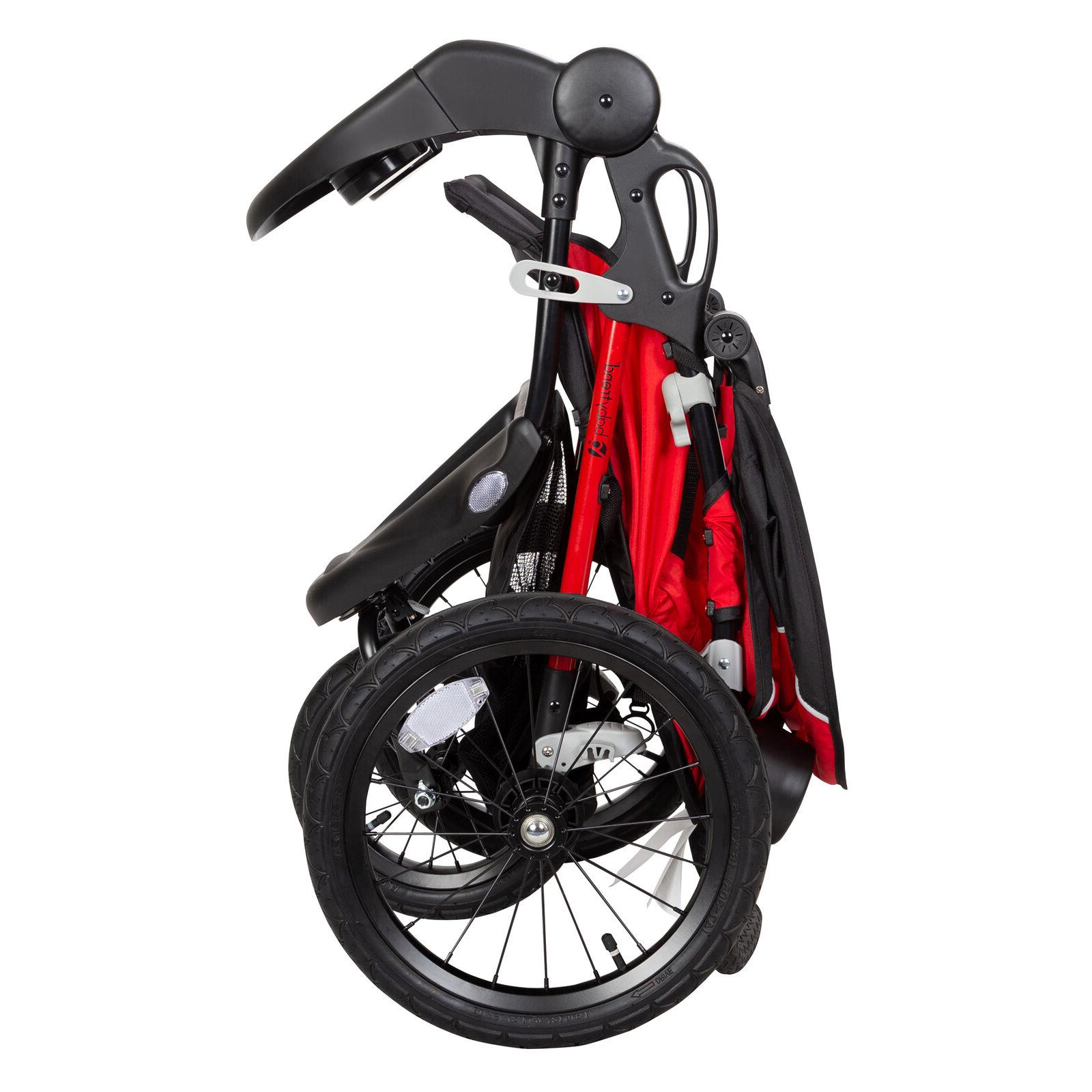 Xcel R8 Jogger Stroller Ruby Red Strollers Runners Training Adjustable