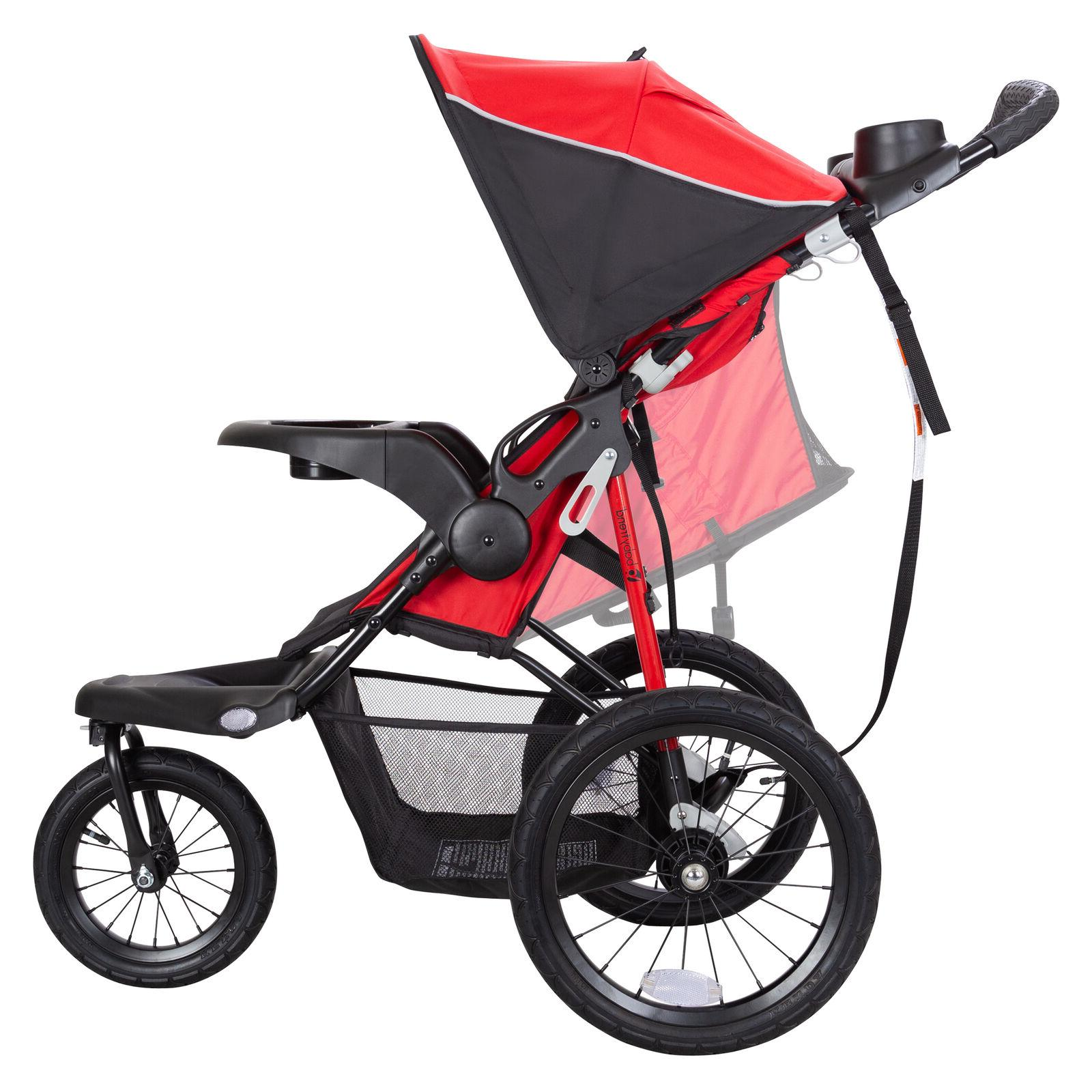 Xcel Jogger Stroller Ruby Red Runners Adjustable