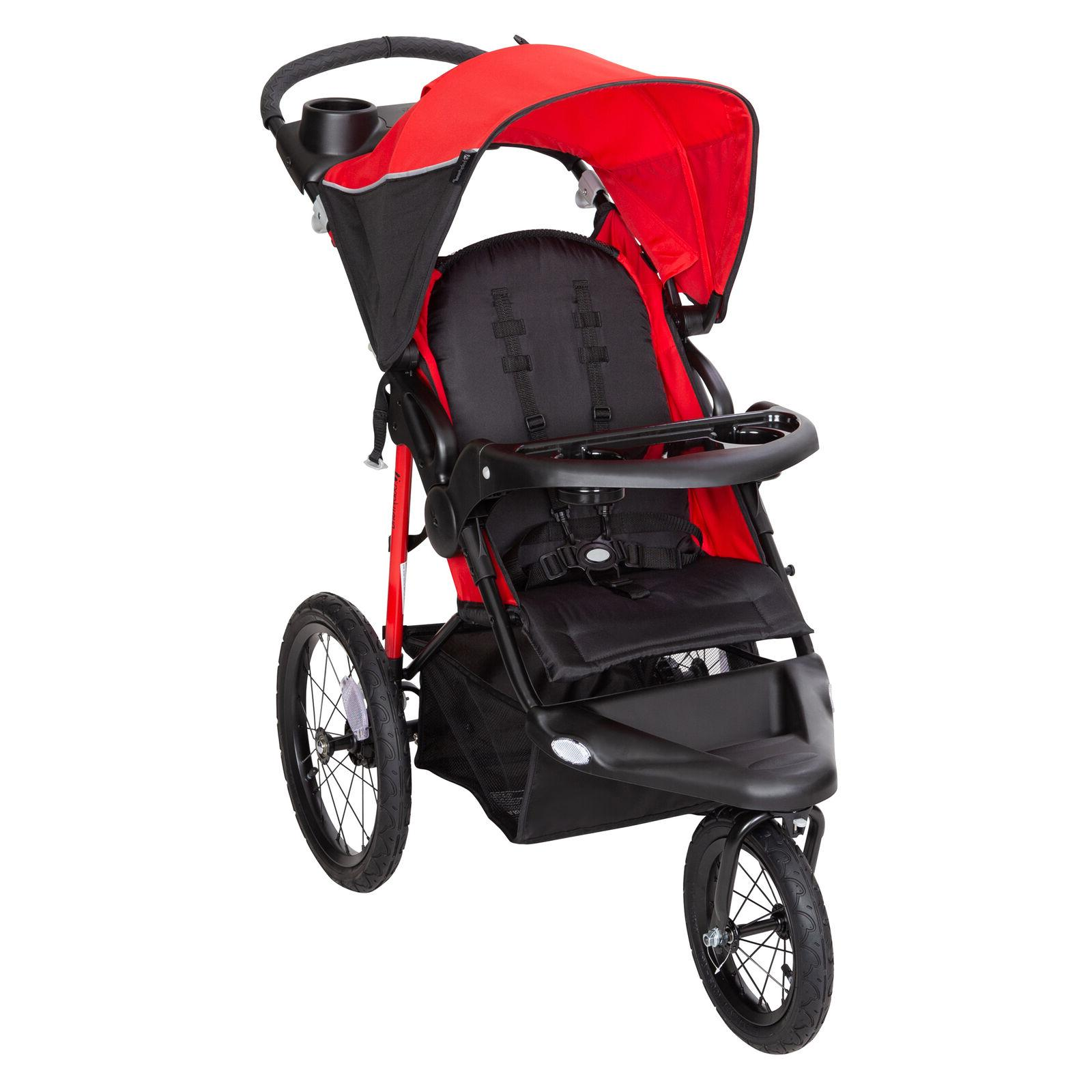 xcel r8 jogger stroller ruby red baby