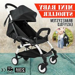 New Upgrade mini Baby Stroller Travel System small Pushchair