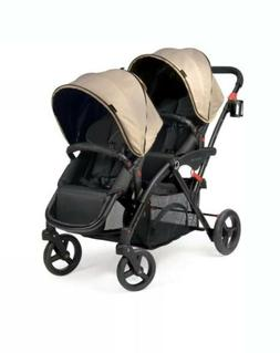 Contours options elite tandem stroller with Graco Car Seat A
