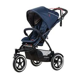 Phil & Teds Sport Inline Twin Baby Double Stroller with Seco