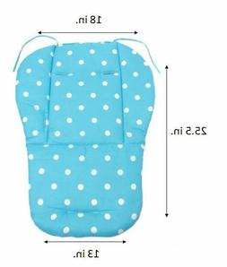 Pink Blue Baby Boy Girl Cover Soft Stroller Seat Cushion Pad