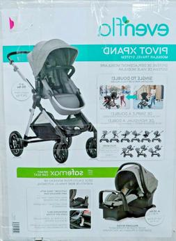 Evenflo Pivot Xpand Modular Travel System with Infant Car Se