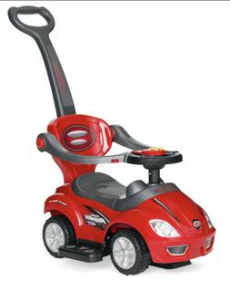 Best Choice Products Kids 3-in-1 Push and Pedal Car Toddler