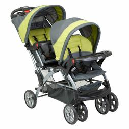 Sit And Stand Stroller Tandem Toddler Double Canopy Storage