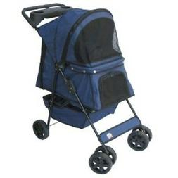 Go Pet Club Pet Stroller Blue