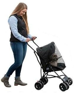 Pet Gear Travel Lite Pet Stroller for Cats and Dogs up to 15