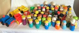 You Choose Vintage Fisher Price Little People VARIETY Castle